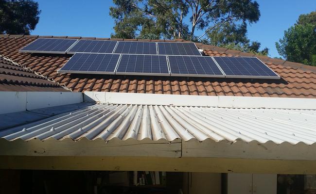nettoyer les panneaux solaires