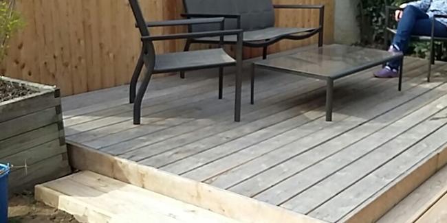 projet de terrasse bois conseils et prix de pose. Black Bedroom Furniture Sets. Home Design Ideas