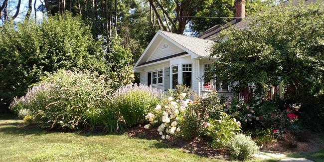 Dossiers sur le jardin de la maison